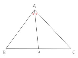 内角の二等分線と比