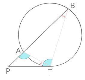 方べきの定理2証明